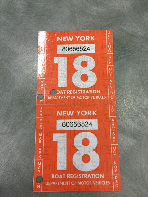 Kirie Registration Sticker 2018